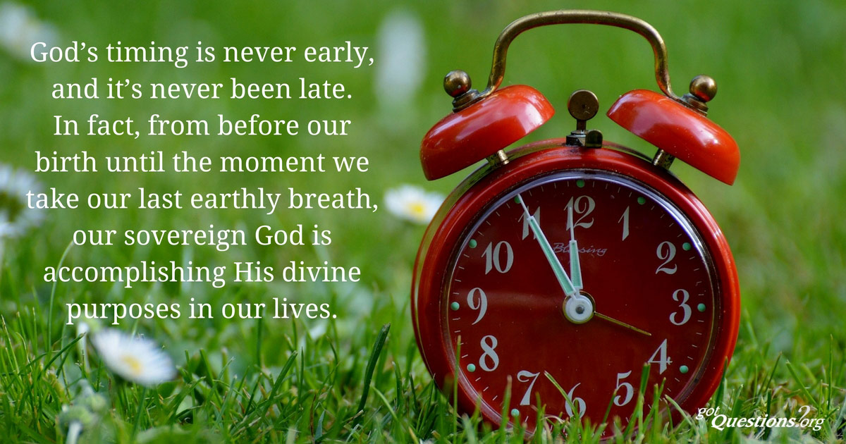 How Can I Know What God's Timing Is?