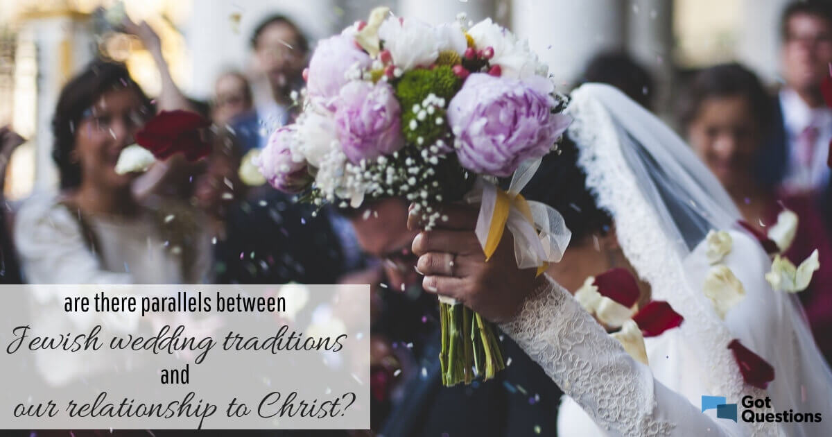 Jewish Wedding Traditions.Are There Parallels Between Jewish Wedding Traditions And Our