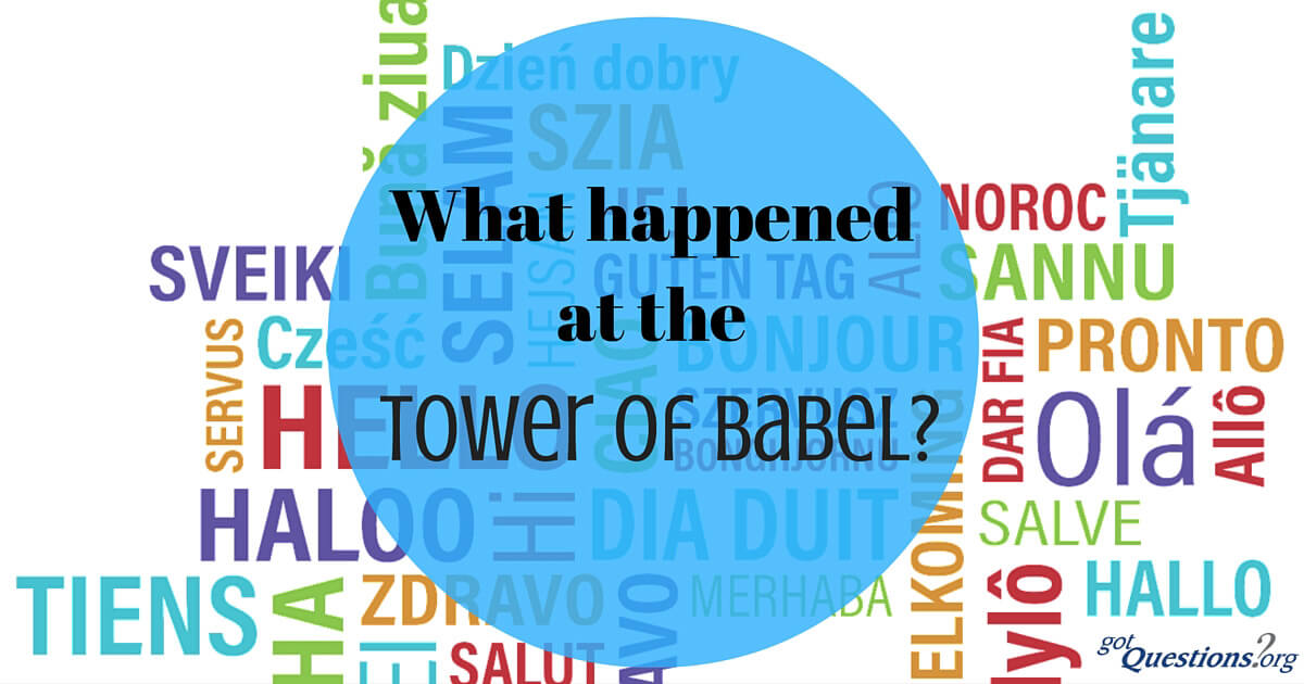 dating the tower of babel
