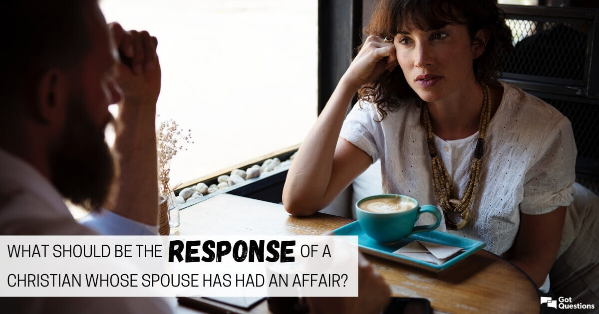 What should be the response of a Christian whose spouse has