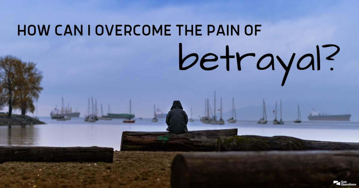 How can I overcome the pain of betrayal? | GotQuestions org