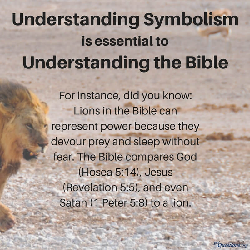 How Can I Recognize And Understand Biblical Symbolism