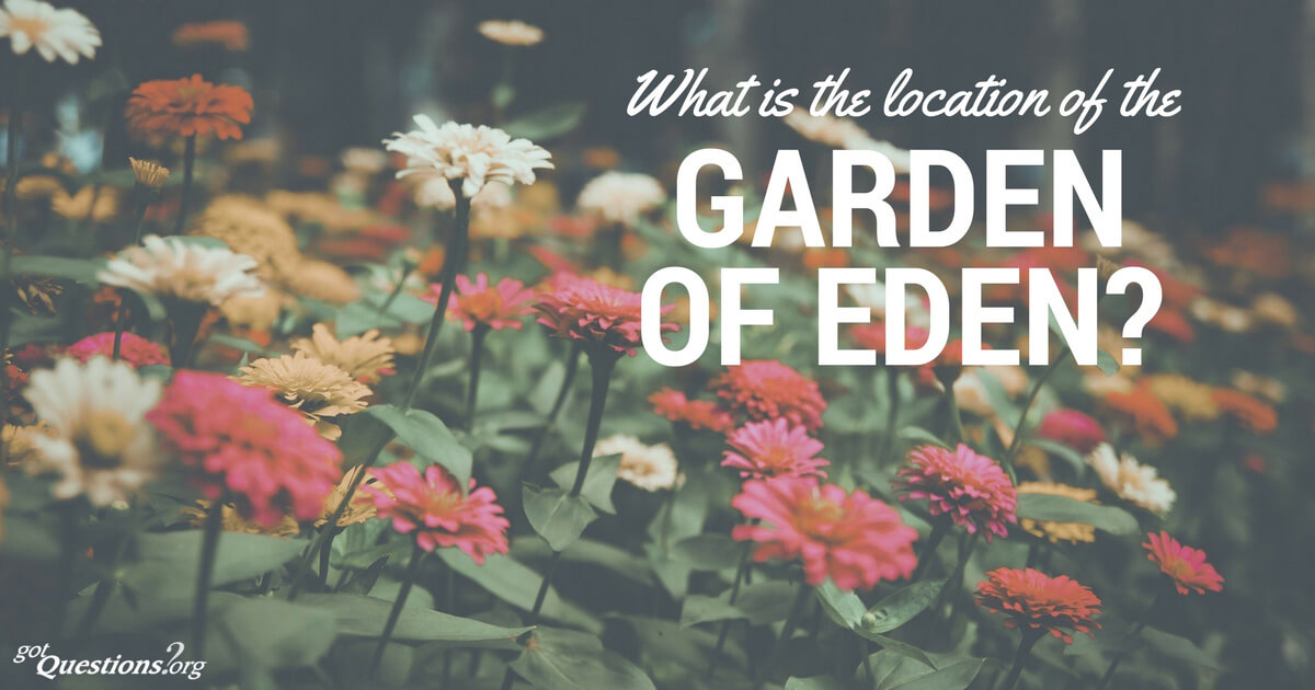 What is the location of the garden of eden for Jardin of eden
