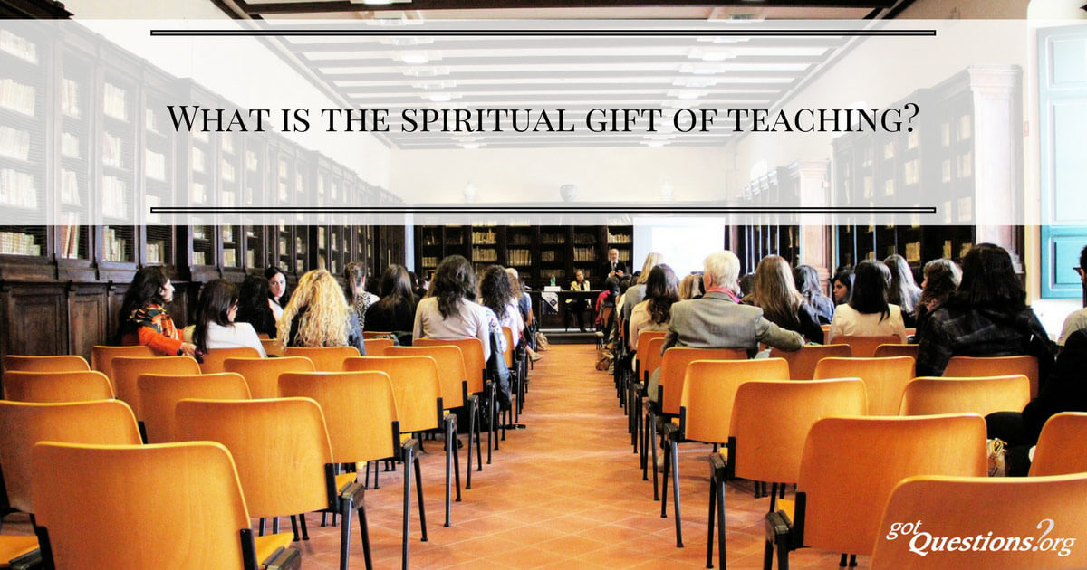 What is the spiritual gift of teaching negle Images