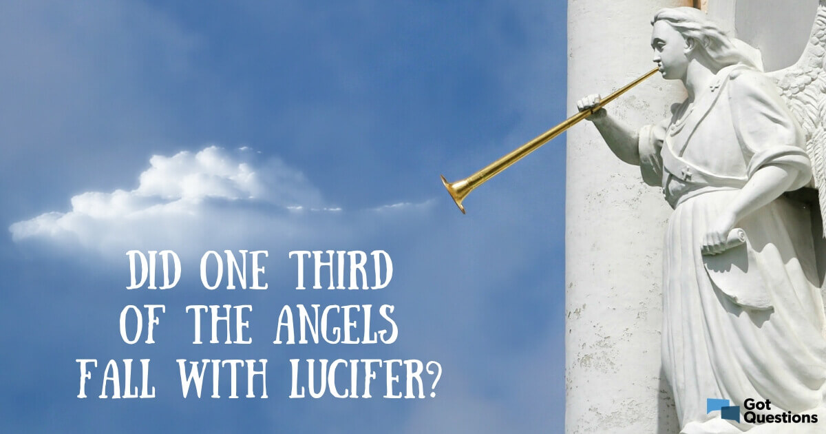 Did one third of the angels fall with Lucifer