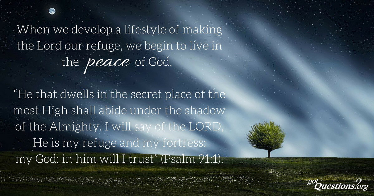 find peace with god