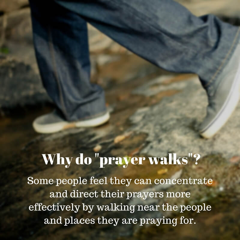 What is prayer walking? Is it biblical to go on a prayer