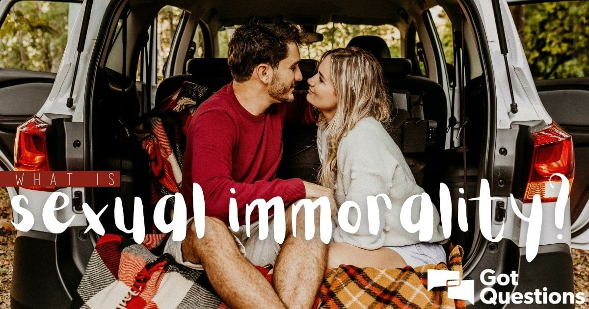 what is sexual immorality in marriage