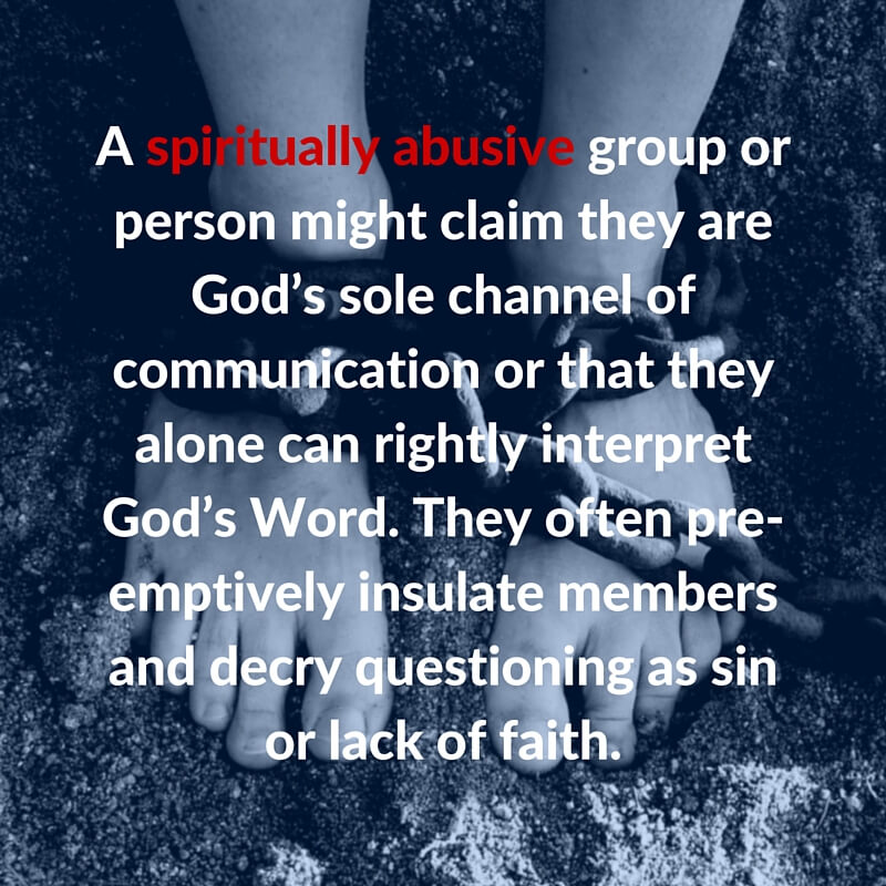 What Is Spiritual Abuse