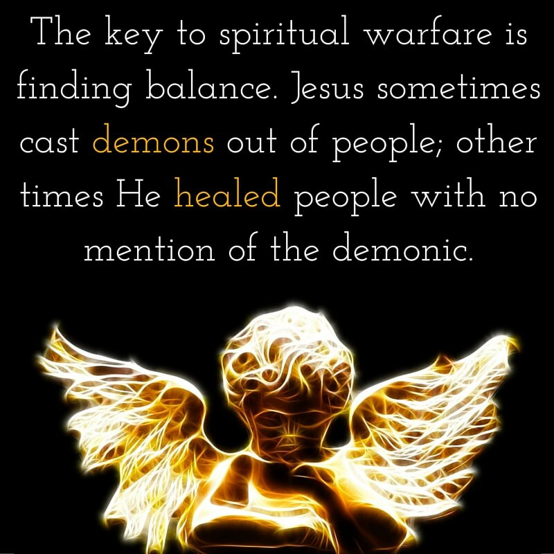 What Does The Bible Say About Spiritual Warfare