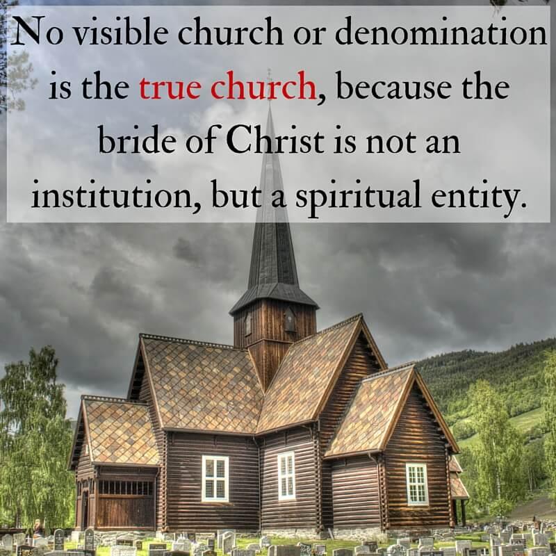 how to choose a church denomination