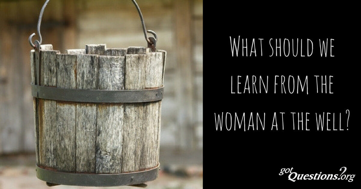 Woman at the Well Summary: A Story of a Loving God