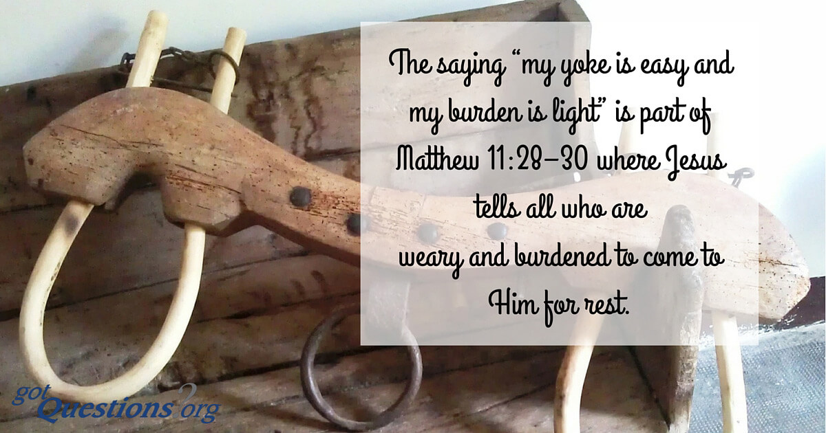 Image result for for my yoke is easy bible verse
