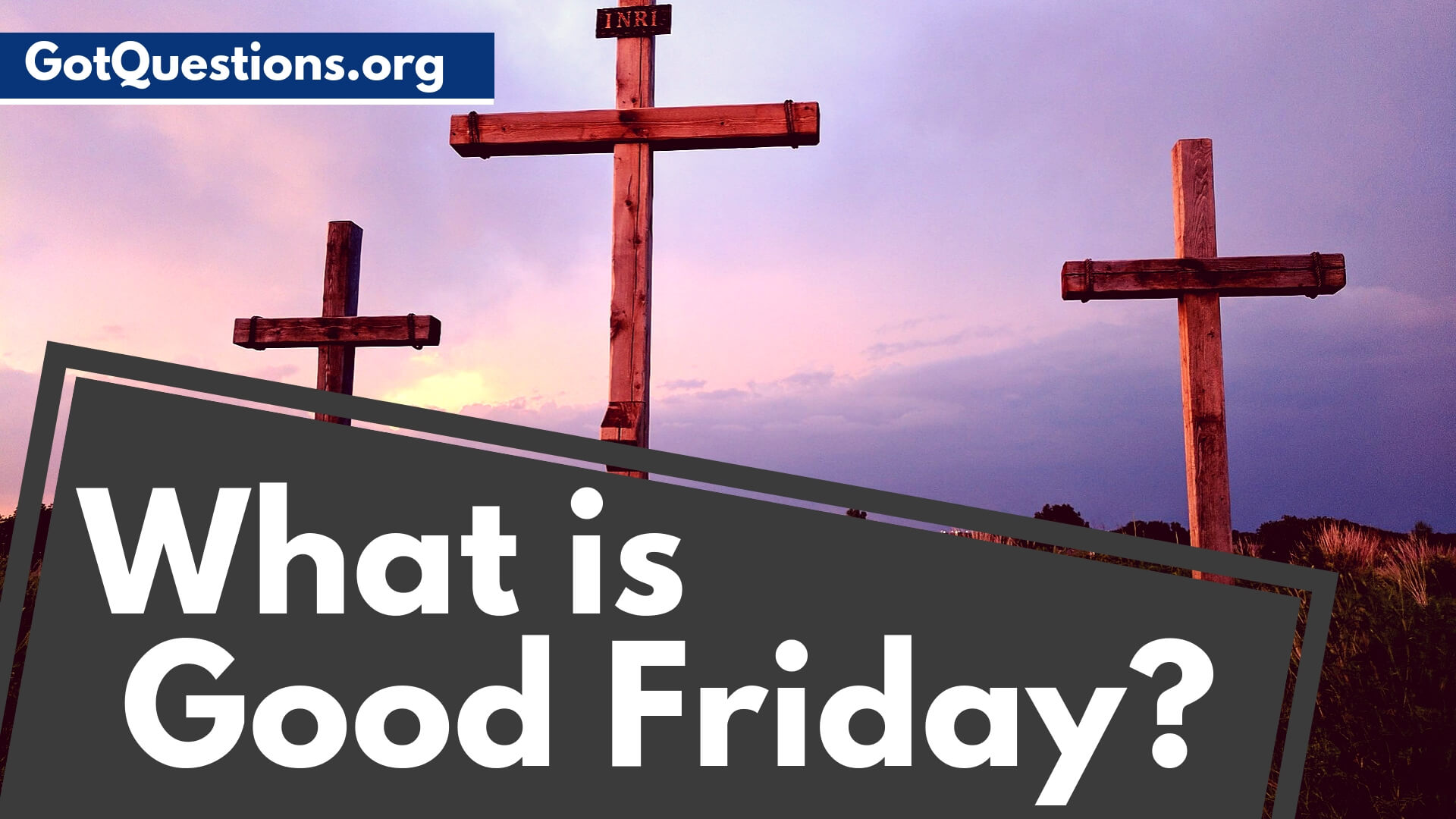 What Is Good Friday Holy Friday