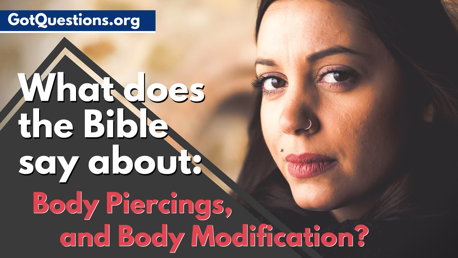 What Does The Bible Say About Body Piercings